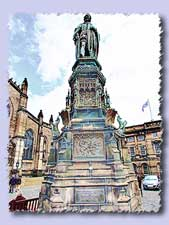 duke of buccleuch statue s